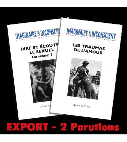Abonnement Imaginaire & inconscient - Export