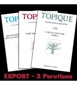 Abonnement Topique - Export