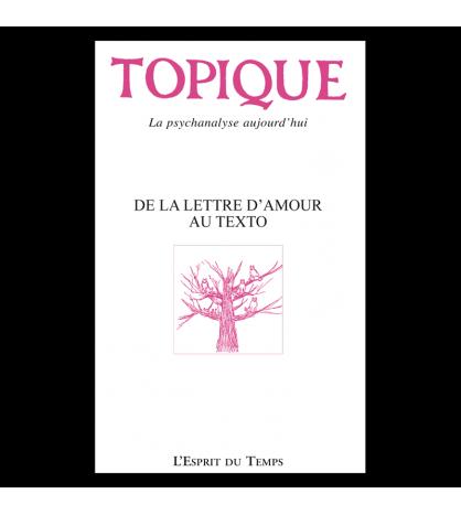 TOPIQUE N°147