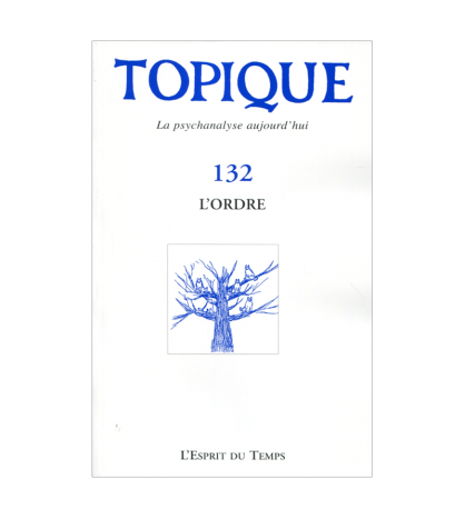 TOPIQUE N 132